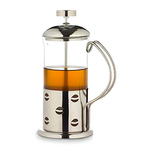 Buy Stainless Steel Coffee Maker, 12 Cups, 51 Ounces, Tea, Coffee, Cold Brew, Silver, 600ML