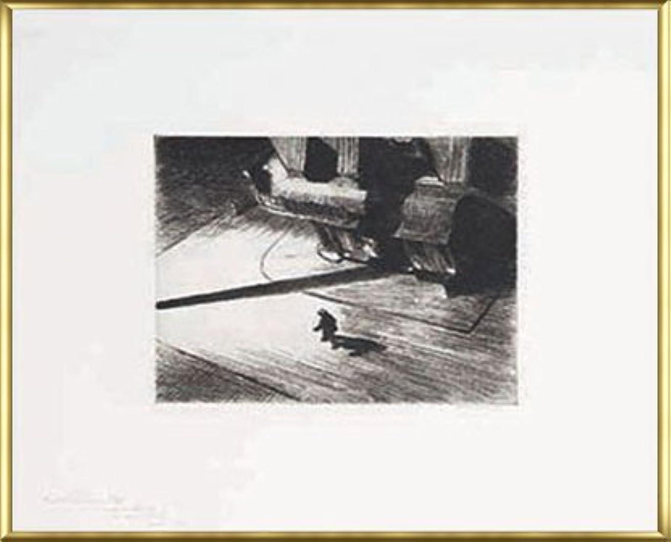 軽くドラマしなやかなポスター エドワード ホッパー Night Shadows 1921 額装品 アルミ製ベーシックフレーム(ゴールド)