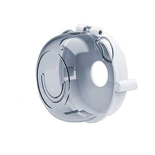 Nosii 2 st spis knopp täcker baby barn säkerhet ugn gasspis knopp skydd lås för barn småbarn kök säkerhet