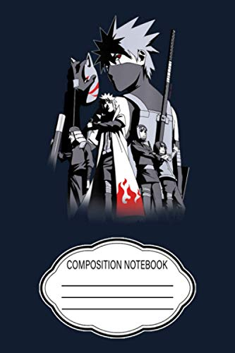 """Naruto Shippuden Kakashi Story Limited Color CE Notebook: 120 Wide Lined Pages - 6"""" x 9"""" - College Ruled Journal Book, Planner, Diary for Women, Men, Teens, and Children"""
