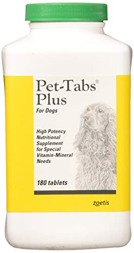 Top 10 best selling list for pet tabs plus for dogs vitamin supplement 180 count