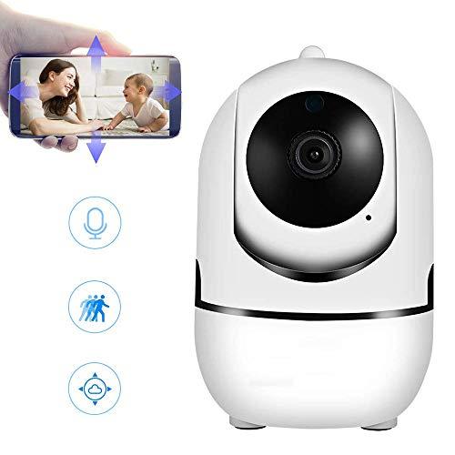 WiFi-Kamera 1080P Sicherheitskamera-System, kabellose Kamera, 2,4 GHz, Heimkamera mit 2-Wege-Audio, Nachtsicht, Auto-Cruise, Bewegungs-Tracker, Aktivitätsalarm