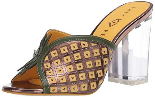 Katy Perry Damen Sandalen mit Absatz, Ananas/Bronze, 40 EU