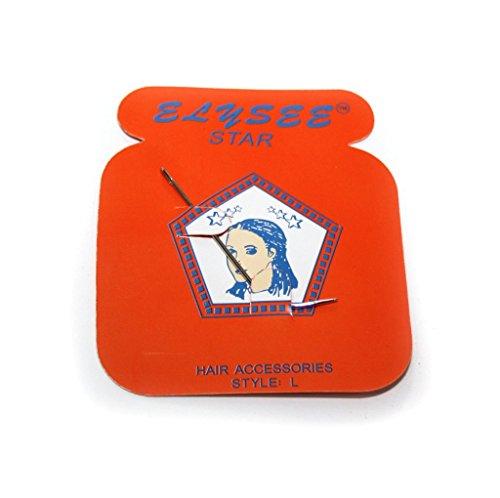 Elysee Star Lot d'aiguilles pour coudre des extensions de cheveux - Disponibles en différentes formes