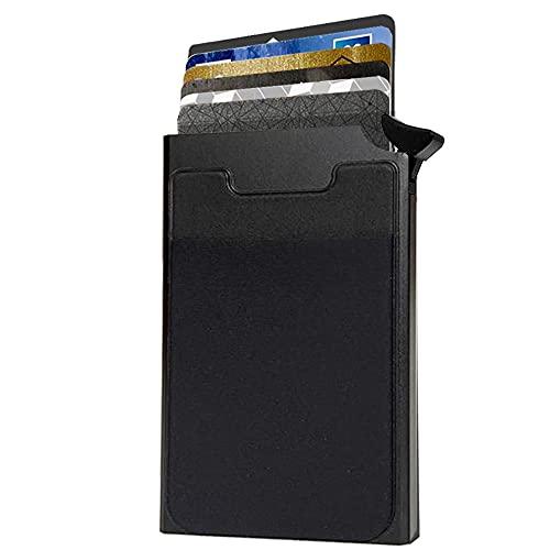 Porte Carte de Crédit Aluminium – Système Anti Chute de Cart