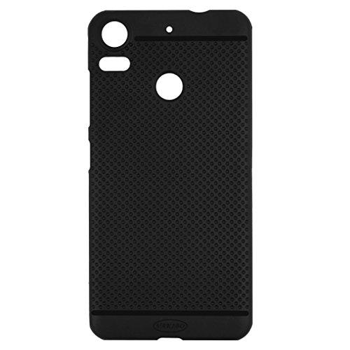 Vakibo Black Dotted Design Premium Soft Matte Silicon Back Cover for HTC Desire 10 Pro
