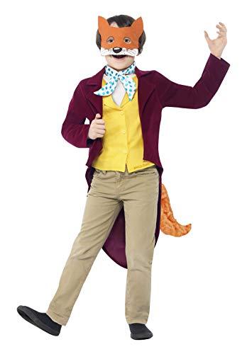 Smiffys Fantastic Mr Fox - Roald Dahl - Kinder-Kostüm - Medium - 143cm - Alter 7-9