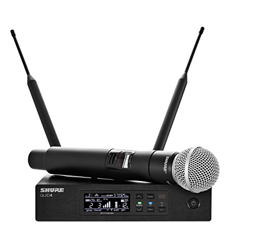 Shure QLXD24/SM58 Wireless Microphone System with SM58 Handheld Vocal Mic
