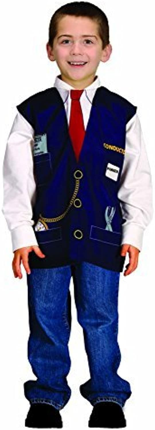 Aeromax My 1st Career Gear Train Conductor, Easy to put on shirt fits most ages 3 to 6 by Aeromax