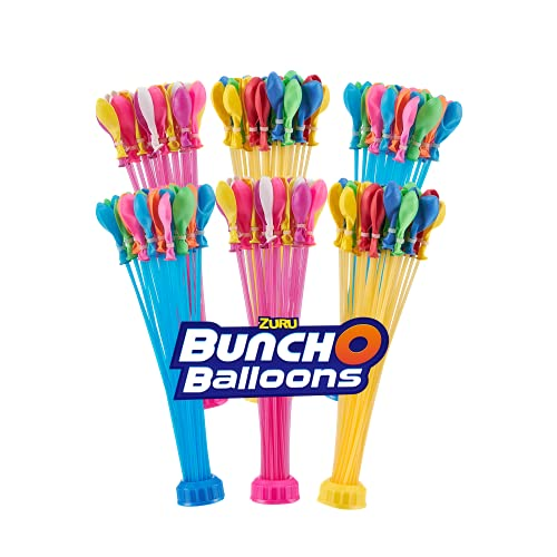 Bunch O Balloons Rapid-Sealing Crazy Color Water Balloons 6 Pack...
