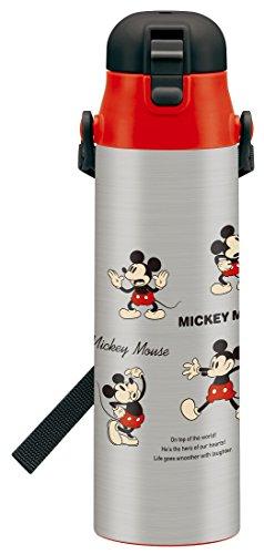 スケーター 直飲み 水筒 ステンレスボトル 1.0L ミッキー チアフル ディズニー SDC10