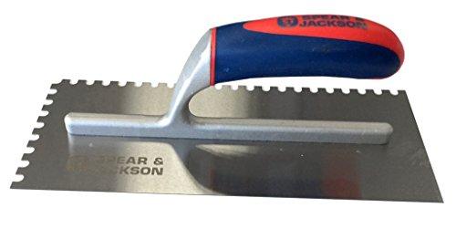 Spear & Jackson Platoir avec manche souple 28 cm et encoche carrée 6 mm