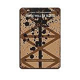 Filmposter mit klassischem Drama There Will Be Blood 17