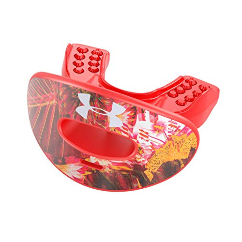 Under Armour Air Floral Print Mundschutz mit abnehmbarem Strap - rot/Print