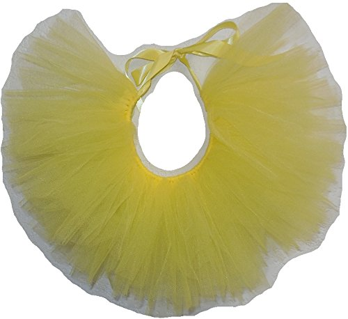 Handcrafted in USA Yellow Tulle Tutu for Extra Small Dogs