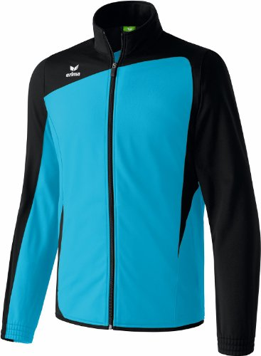 Erima Polyesterjacke Club 1900 Homme, Turquoise - Bleu/noir, M (Taille fabricant: 6)