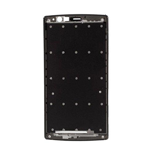 BEIJING ♋ SCREENCOVER+ / Bisel del Marco Medio con Adhesivo para LG G4 / H815, Reemplazo LCD Placa Placa ATRÁS BIELEL (Color : Negro)
