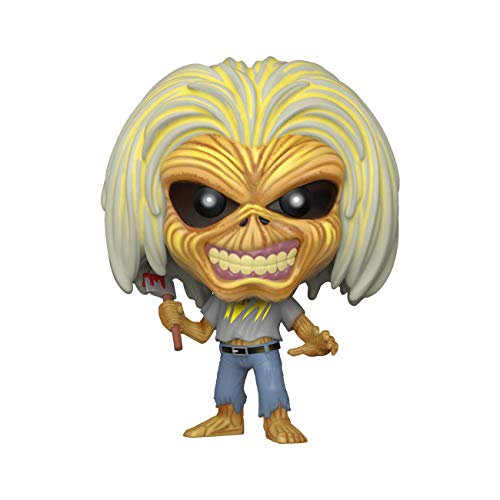 Funko- Pop Rocks: Iron Maiden-Killers (Skeleton Eddie) Figurina, Multicolore, 45980