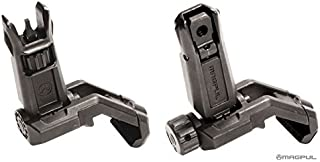 Magpul Pro Offset Iron Sights Angled 45 Degree BUIS Front and Rear Sight Set MBUS MAG525 MAG526