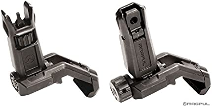 Magpul Pro Offset Iron Sights Angled 45 Degree BUIS Front and Rear Sight Set MBUS MAG525 MAG526