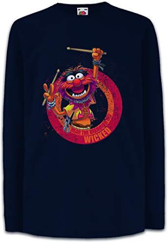 LaMAGLIERIA T-Shirt Kids AC//DC ACDC 3D Logo Maglietta Bambino Rock Metal 100/% Cotone