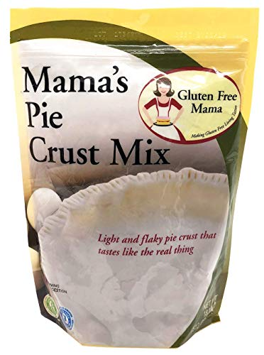 Gluten Free Mama's Pie Crust Mix - Light and Flaky - Certified Gluten Free Ingredients - All Purpose - Safe for Celiac Diet - Easy to Store