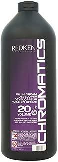 Redken Chromatics Oil In Cream Developer, 32 Ounce