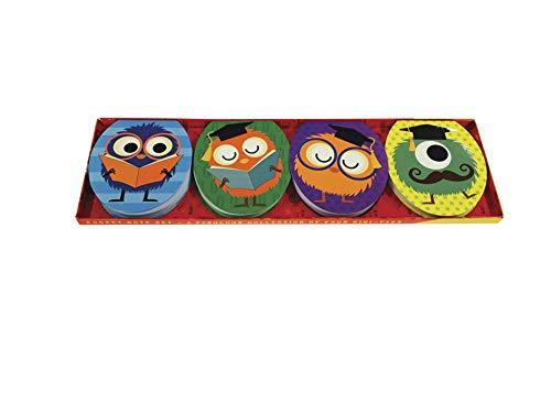 Pocket Note Set of 4 Mini-Pads: School Monsters: A Fabulous Collection of 4 Mini-Pads