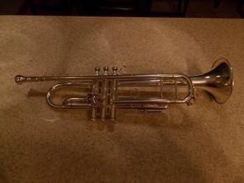 King 2055 Silver Flair Series Bb Trumpet 2055T Silver 1st Valve Thumb Trigger