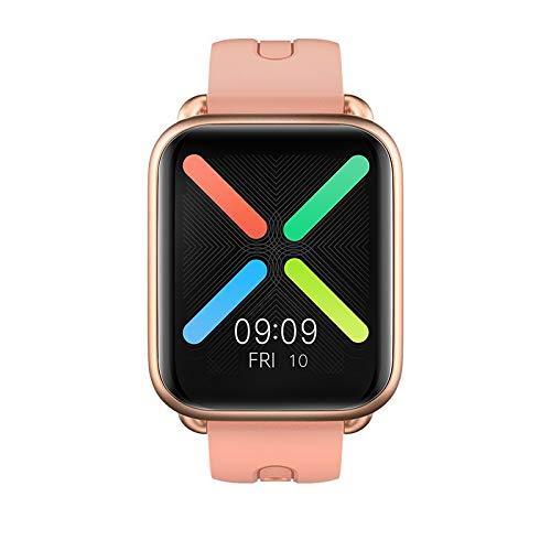 WuMei101 Relojes inteligentes de moda para hombres y mujeres, rastreadores de actividad de fitness con monitores de ritmo cardíaco, podómetros con saturación de oxígeno en la sangre, relojes de podóme