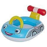 #11 Kinderboot Polizei 75 cm Babypool Baby Schwimmen Kinderpool Sitz Pool aufblasbar Wasserspass Badeinsel Spielzeug Kinderbadespass Schwimmbecken Badepool Schwimmring Schwimmreifen Wasserspielzeug