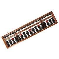 PULABO 17桁の木製そろばん標準そろばん計算電卓カウント数学学習ツール初心者新発売と人気 使いやすい、高品質の