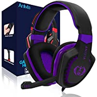 Anivia AH28 Noise Isolating Over Ear Wired Gaming Headset
