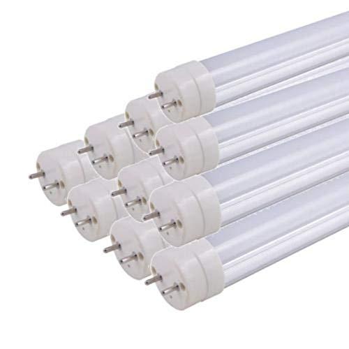 Tube Néon LED 150cm T8 50W (Pack de 10) - Blanc Froid 6000K - 8000K