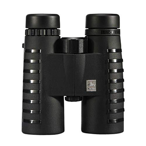 PIGE Jumelles HD Le télescope Adulte pour Enfants Low Light Night Vision Concert d'observation des Oiseaux Peut Prendre Le téléphone (Couleur : 10x42Black)