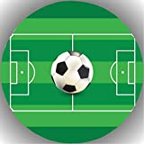 Fondant Tortenaufleger Tortenbild Geburtstag Fussball T22