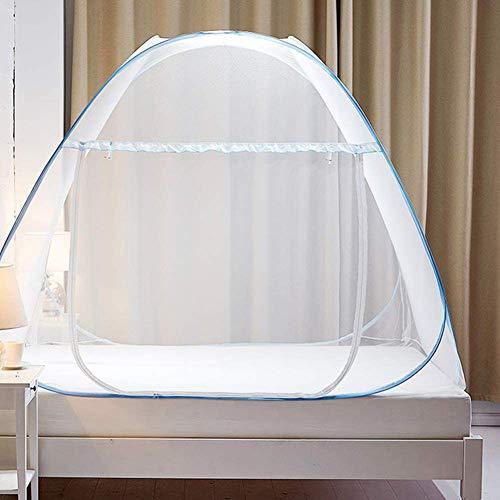 BCXGS Muggennetten, Outdoor Easy Dome Muggennetten Gratis Installatie en Vouwnetten, Voorkomen Insect Pop Up Tent Gordijnen voor Bedden Slaapkamer