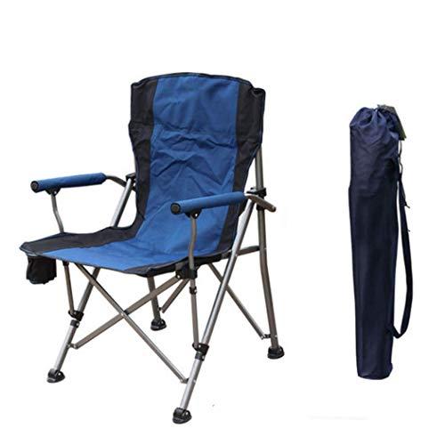 Folding Camp Chaise ultra léger jardin Chaise pliante Pêche Chaise Compact, Chaise d'extérieur portable avec sac de transport pour activités en plein air, camping, barbecue, plage, randonnée, etc.