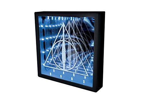 Offizielles Harry Potter Heiligtümer des Todes | Optische Illusion Nachtlicht & Lampe | Ideal für Kinder, Schlafzimmer, Büro & Zuhause | LED Dual Powered USB oder Batterie