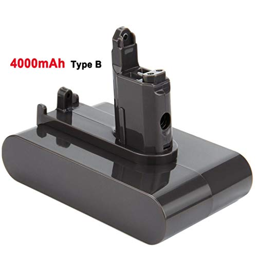 4.0Ah 22.2V DC31 Replacement Lithium Battery for Dyson Type B DC35 DC44 DC31 DC34 Handheld Vacuum (ONLY Fit for Dyson Type B)