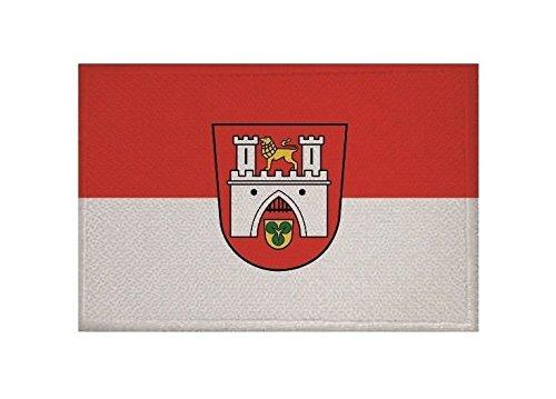 U24 Aufnäher Hannover Fahne Flagge Aufbügler Patch 9 x 6 cm