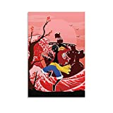shumiao Onkey D Luffy Wavewall Decoration Canvas Wall Art for Bedroom Art Prints Poster Decorative Painting Canvas Wall Art Room Posters Wall Art Bedroom Painting08×12inch(20×30cm)