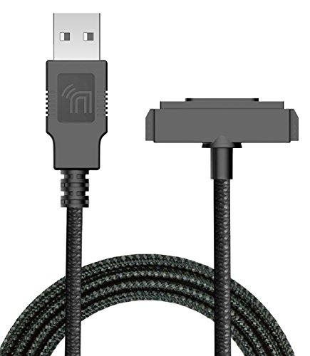 Sonim XP5/XP6/XP7 Ladegerät, Nakedphone Marke, robust, geflochten, USB-Lade-/Sync-Kabel [mit magnetischen Kontakten] für Sonim XP5700/XP6700/XP7700 Handys