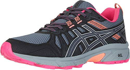 ASICS Women's Gel-Venture 7 Running Shoes, 8M, Carrier Grey/Silver