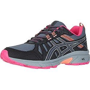 ASICS Women's Gel-Venture 7 Running Shoes, 8.5, Carrier Grey/Silver