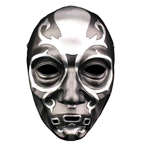 Fangteke Todesser Sensenmann Maske Halloween Horror Maske Filmcharakter Cosplay Maske Harzmaske Kostüm Requisiten