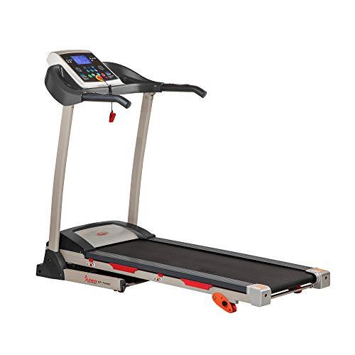 Sunny Health & Fitness Treadmill, Gray (SF-T4400)