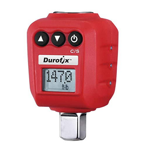 "Durofix 1/2"" Digital Torque Adapter (25-250 ft-lbs) with Audible/LED Alert RM602-4A"