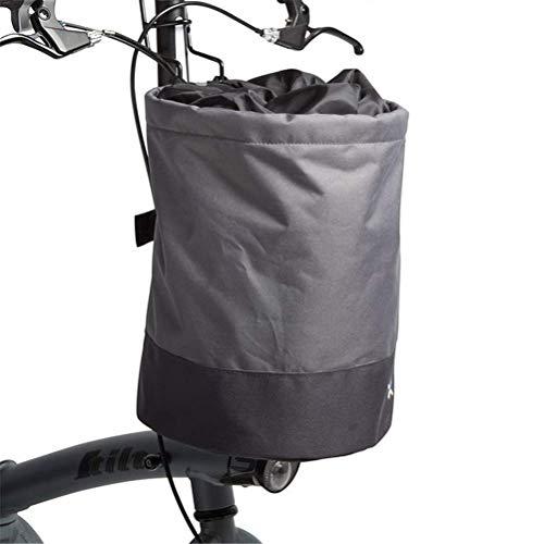 LILICEN CY Cesta de Bicicleta Plegable liberación rápida fácil de Instalar la Bicicleta cargamento Colgando la Cesta del Manillar