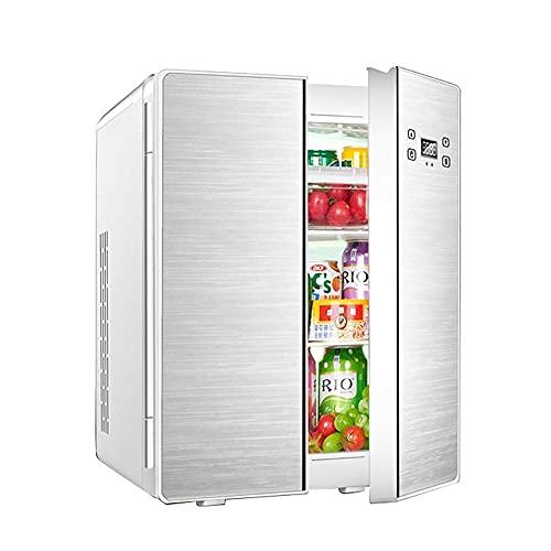 YQDSY Pequeño Refrigerador, Refrigeración Mini Refrigerador de Coches 25L Doble Núcleo Doble Double Design Home Dormitory Cooler And Warmer Car Dual Uso Mini Nevera Zwaar Gebruik: Op Lange